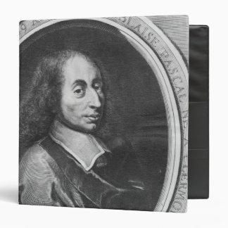 Blaise Pascal Vinyl Binder