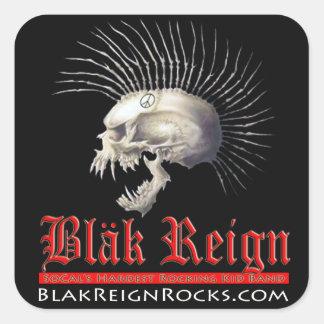 Blak Reign Stickers