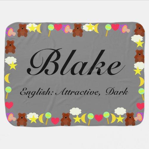 Blake Baby Blanket Template