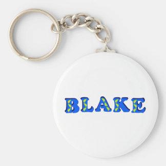 Blake Basic Round Button Keychain