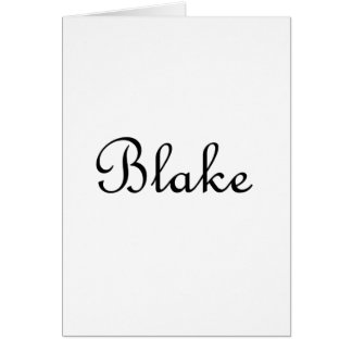 Blake Card