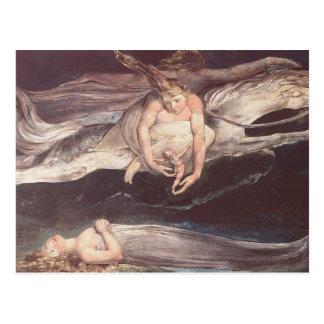 Blake-Ejemplo de Guillermo a DivineComedy de Dante Postal