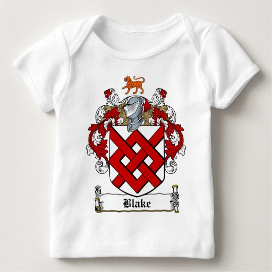 BLAKE FAMILY CREST -  BLAKE COAT OF ARMS BABY T-Shirt