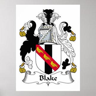 Blake Family Crest Print