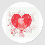Blake in my Heart Classic Round Sticker