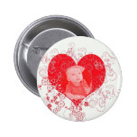 Blake in my Heart Pinback Buttons
