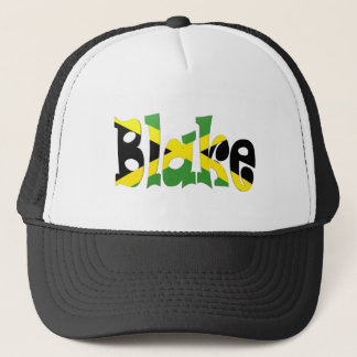 Blake Jamaican Flag Trucker Hat