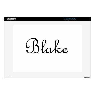 Blake Laptop Decal