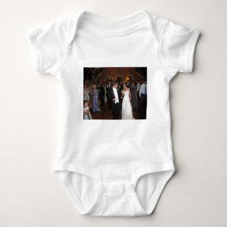 Blake & Megan Wedding Reception 026 Baby Bodysuit