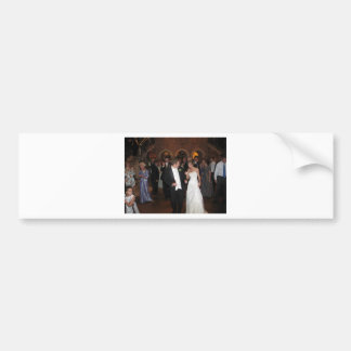 Blake & Megan Wedding Reception 026 Bumper Sticker