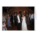 Blake & Megan Wedding Reception 026 Greeting Card