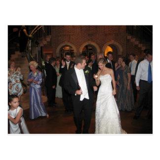 Blake & Megan Wedding Reception 026 Postcard