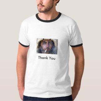 Blake Miller USMC Thank You Tshirt
