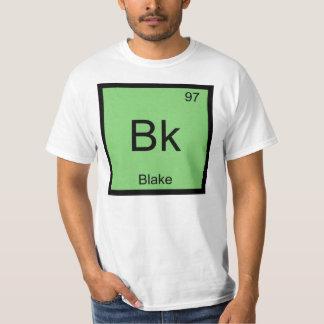 Blake Name Chemistry Element Periodic Table T Shirt