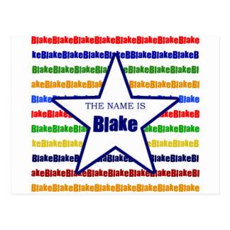 Blake Postcard
