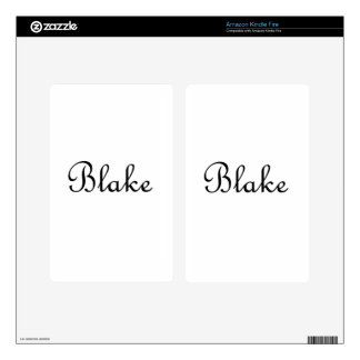 Blake Skin For Kindle Fire
