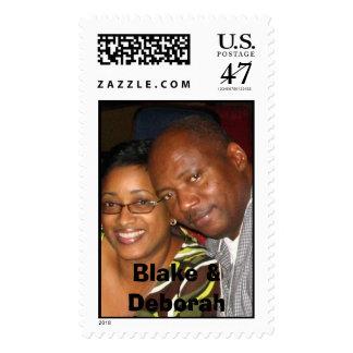 BlakeandDJ (3), Blake y Deborah Sello