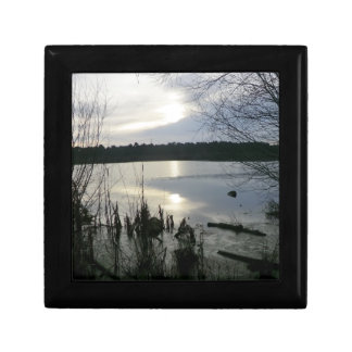 Blakemere Moss at Sunset in Delamere Forest Jewelry Box