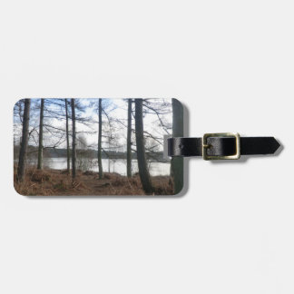 Blakemere Moss in Delamere Forest Tag For Luggage