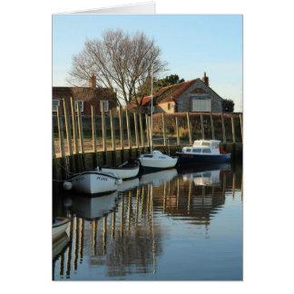 Blakeney Harbour Card