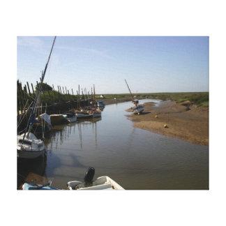 Blakeney, Norfolk del norte Impresión De Lienzo