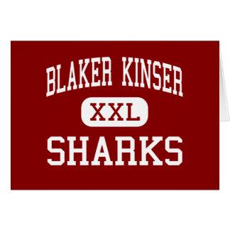 Blaker Kinser - Sharks - Junior - Ceres California Card