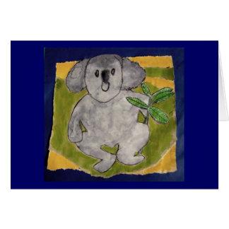 Blake's Koala Bear Card