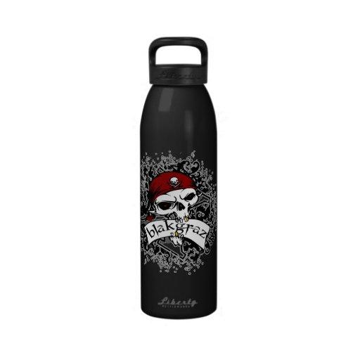 Blakgraz Skull 24oz Water Bottle