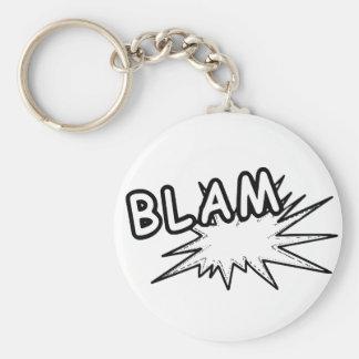 Blam Keychain