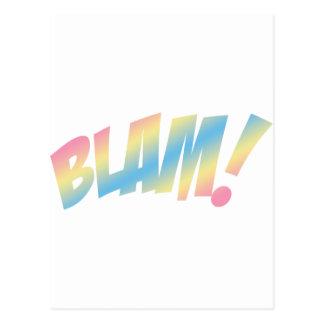 ¡Blam! Tarjetas Postales
