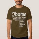 Blame Bush - Obama Scorecard T-shirts