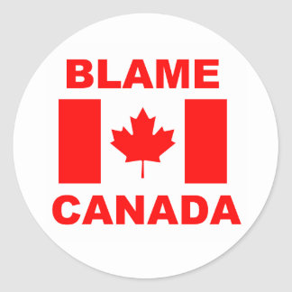 Blame Canada Stickers
