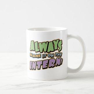 Blame Intern Mug
