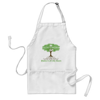Blame it on My Roots Adult Apron