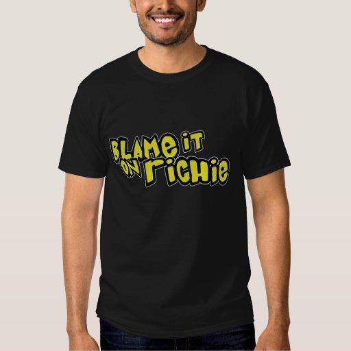 Blame It On Richie: Basic Shirt
