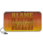 Blame it on the Bankers Anti-Banks Pro Worker iPhone Speaker