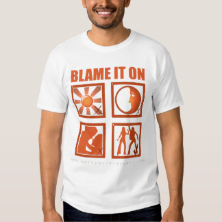 Blame It On The Boogie T Shirt