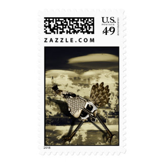 Blame it on the Chicken Postage Stamp