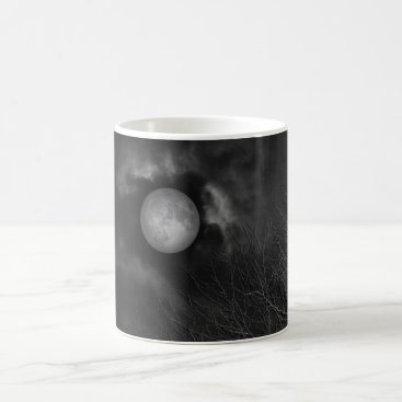 Halloween Themed Blame It On The Moon Coffee Mug
