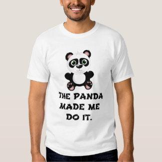 BLAME IT ON THE PANDA TEE SHIRT