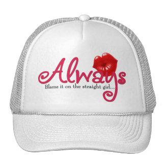 Blame it on the Straight Girl Trucker Hat