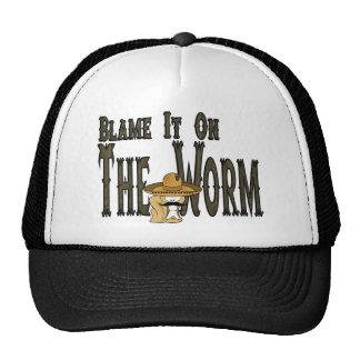 Blame It On The Worm Trucker Hat