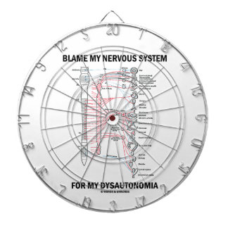 Blame My Nervous System For My Dysautonomia Dart Boards