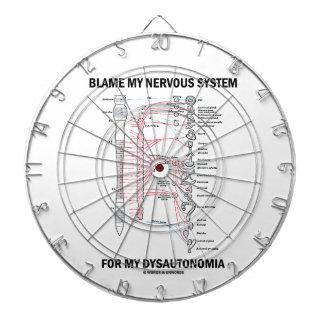 Blame My Nervous System For My Dysautonomia Dartboard