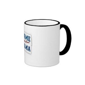 Blame Obama Coffee Mug