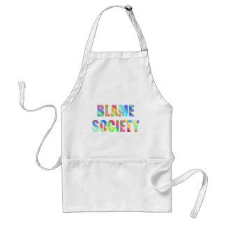 Blame Society Adult Apron
