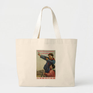 Blame the recession on small animals large tote bag