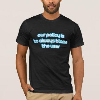 blame the user T-Shirt