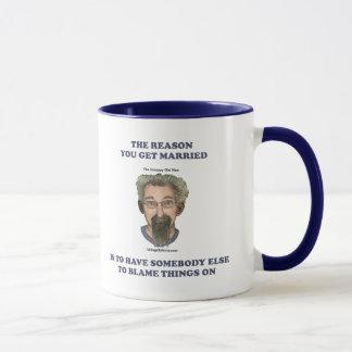Blame Things On Mug