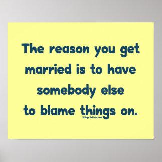 Blame Things On Print